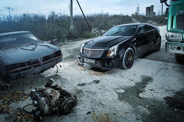 Чем могут зацепить мощные американские купе  Cadillac CTS-V и Chevrolet Camaro SS. Фото 8
