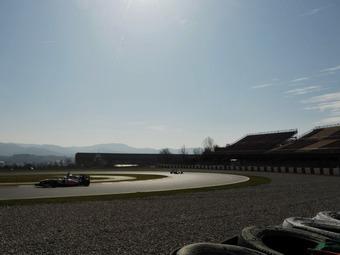 Корейские шинники протестировали покрышки для Формулы-1