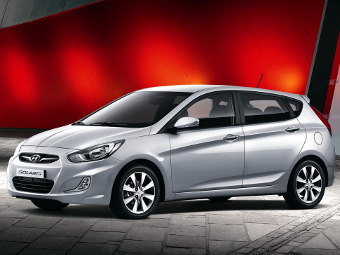"""Hyundai проведет рестайлинг """"Соляриса"""""""