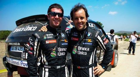 Место российского пилота в гоночном коллективе X-Raid занял аргентинец Орландо Терранова