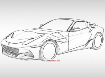 """Ferrari подготовит """"заряженный"""" вариант F12berlinetta"""