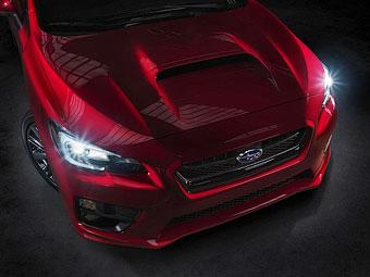 Компания Subaru показала первую фотографию нового седана WRX