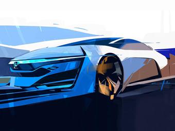 """""""Хонда"""" показала дизайн предвестника новой водородной модели"""
