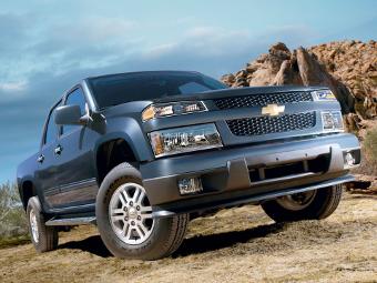 Chevrolet привезет новый Colorado в Лос-Анджелес