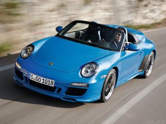 Porsche оставит купе 911 без дверных ручек