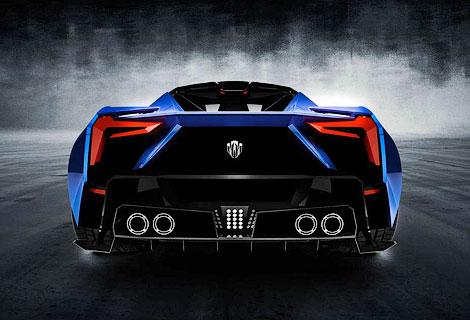 Компания W Motors опубликовала изображения спорткупе SuperSport. Фото 1
