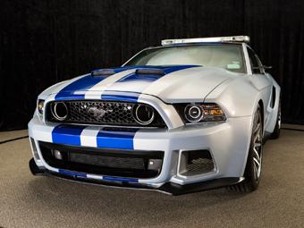 """""""Мустанг"""" из фильма по игре Need for Speed поедет в NASCAR"""