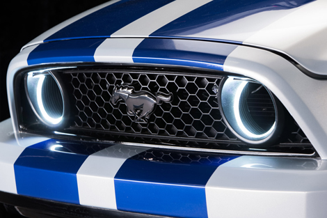 Тюнинговый Ford Mustang выступит на гоночном соревновании в роли пейс-кара. Фото 1