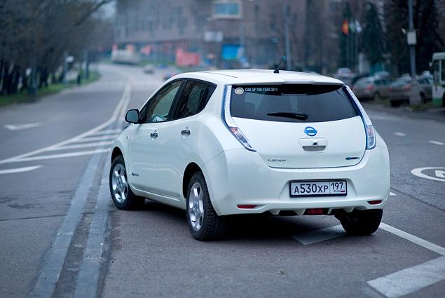 Можно ли в Москве пользоваться электромобилем Nissan Leaf. Фото 1