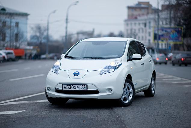 Можно ли в Москве пользоваться электромобилем Nissan Leaf. Фото 2