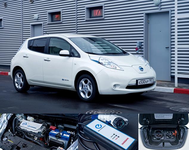 Можно ли в Москве пользоваться электромобилем Nissan Leaf. Фото 4
