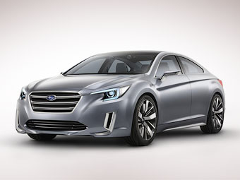 Представлен предвестник следующего Subaru Legacy