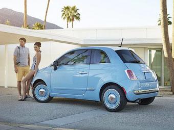 Fiat превратил хэтчбек 500 в ретрокар