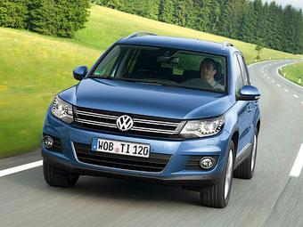 """Volkswagen отзовет в России 30 тысяч """"Тигуанов"""""""