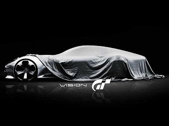 Mercedes-Benz показал тизеры суперкара для игры Gran Turismo 6