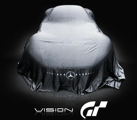 """Для гоночного симулятора """"Мерседес"""" разработает новый спортивный автомобиль. Фото 1"""
