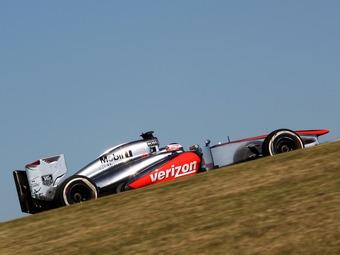 Баттон потеряет три места на старте Гран-при США