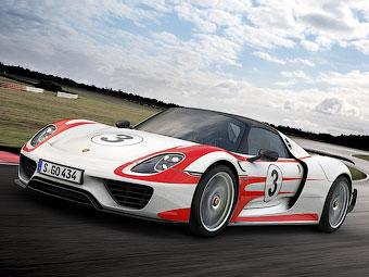 Компания Porsche сделала супергибрид 918 Spyder быстрее