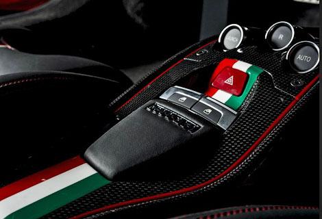 Дизайн суперкара Ferrari доработали в стиле болидов Формулы-1
