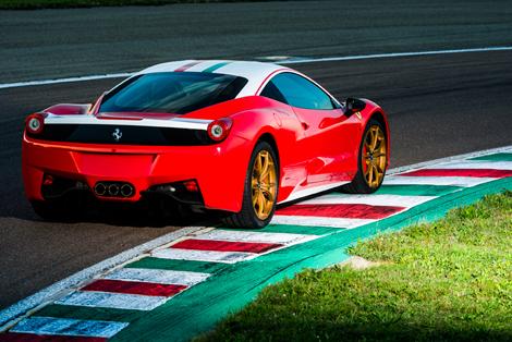 Дизайн суперкара Ferrari доработали в стиле болидов Формулы-1. Фото 1