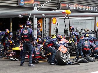 В Формуле-1 провели пит-стоп быстрее двух секунд