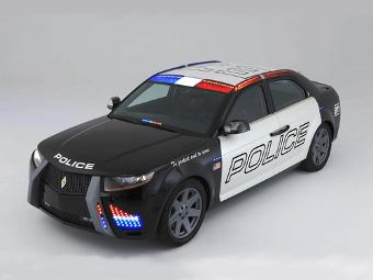 Уникальный бронированный полицейский автомобиль уйдет с молотка