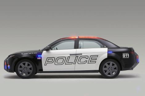 На торги выставят патрульный седан первого независимого производителя машин для полиции США