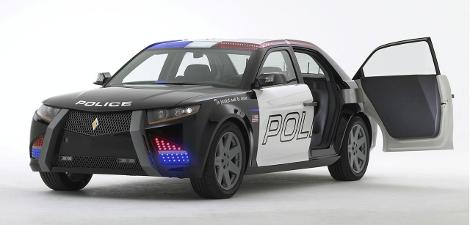 На торги выставят патрульный седан первого независимого производителя машин для полиции США. Фото 1