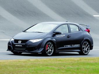 """""""Хонда"""" показала предвестника Civic Type R нового поколения"""