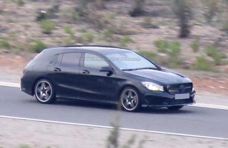 """Модификация модели CLA с кузовом """"Shooting Brake"""" появится в 2015 году"""