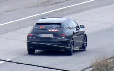 """Модификация модели CLA с кузовом """"Shooting Brake"""" появится в 2015 году. Фото 2"""