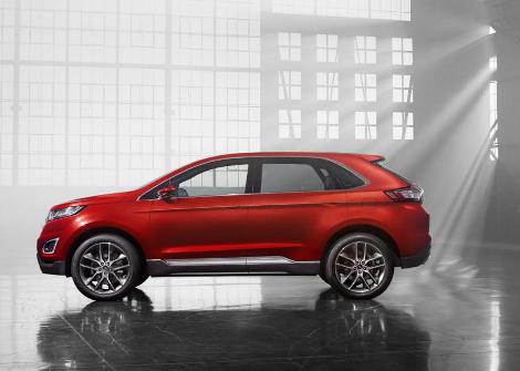В Лос-Анджелесе дебютировал предвестник Ford Edge нового поколения
