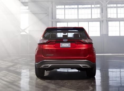 В Лос-Анджелесе дебютировал предвестник Ford Edge нового поколения. Фото 2