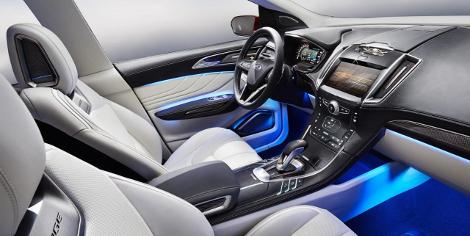 В Лос-Анджелесе дебютировал предвестник Ford Edge нового поколения. Фото 3