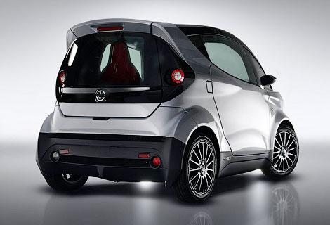 Японцы построили двухместного конкурента автомобилям Smart