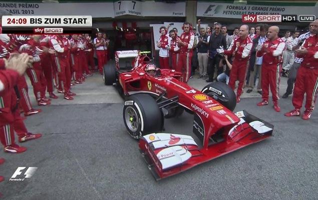 Онлайн-трансляция девятнадцатого этапа Формулы-1 2013 года. Фото 5
