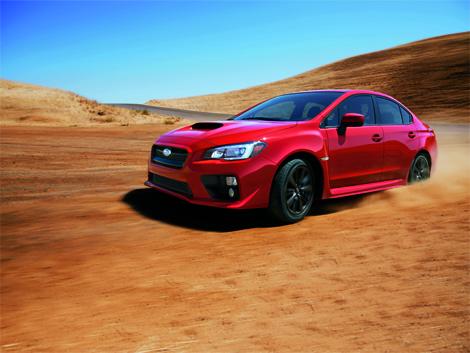 """Седан Subaru WRX нового поколения оснастили двухлитровой """"турбочетверкой"""". Фото 1"""