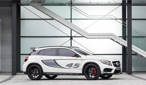 В Лос-Анджелесе дебютировал концептуальный Mercedes-Benz GLA 45 AMG
