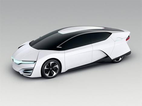 Японский автопроизводитель показал концепт-кар FCEV. Фото 3