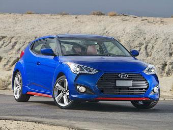 Турбохэтчбек Hyundai Veloster стал спортивнее