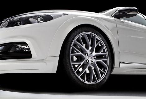 Для модели подготовили новые бамперы и линейку колесных дисков