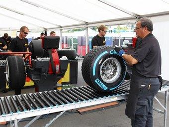 Новые шины для Формулы-1 станут тяжелее