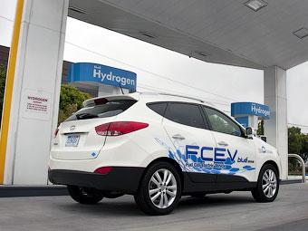 Владельцев Hyundai Tucson обеспечат бесплатным водородом