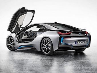 Гибридный суперкар BMW раскупили на год вперед