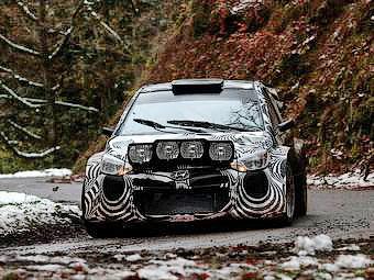 Вице-чемпион WRC опробовал раллийный Hyundai