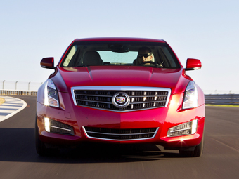 Купе Cadillac ATS дебютирует в январе