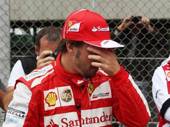Британцы оценили выступление Алонсо хуже пилотов Marussia