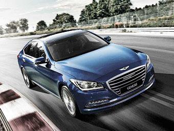 Hyundai привезет новый седан Genesis в Россию