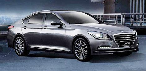 Компания Hyundai официально представила Genesis нового поколения