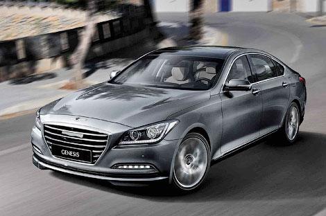 Компания Hyundai официально представила Genesis нового поколения. Фото 1